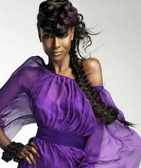 black women with purple hair braid hairstyles for black women stylish eve