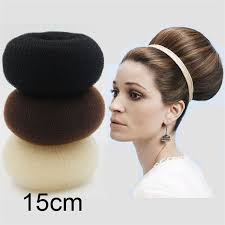 bun scrunchie furling 3pcs large 15cm hair volumizing scrunchie donut ring