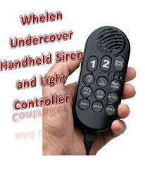 whelen siren light controller whelen undercover remote siren and light controller ems lights