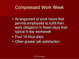 5 day work week benefits nonfinancial rewards and other compensation