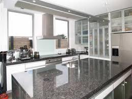 Modern Kitchen With White Appliances Cool Modern White And Grey Kitchen My Home Design Journey
