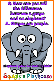 elephant jokes at squigly u0027s playhouse