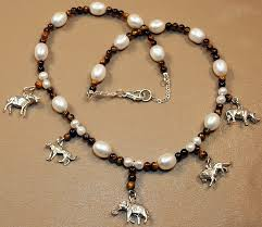 big necklace silver images Big 5 africa charm necklace safari gold jpg