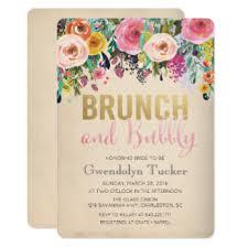 chagne brunch bridal shower invitations bridal brunch invitations