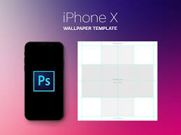 wallpaper template free iphone x parallax wallpaper template psd by