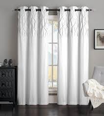 amazon com avondale manor ella panel pair white home u0026 kitchen