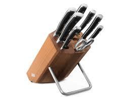 wüsthof classic ikon knife block set 8 pieces cutlery