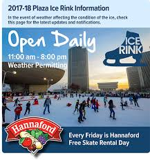2017 2018 season empire skate plaza rink winter at the plaza