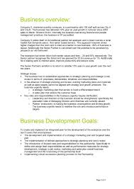 strategic diagnosis and action plan example