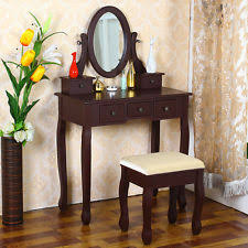 Shabby Chic Vanity Table by Shabby Chic Dressing Table Mirror U0026 Stool Set Vanity Makeup