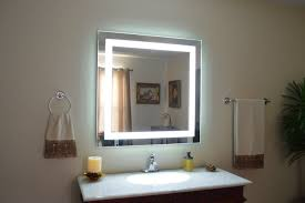Modern Vanity Lighting Bathroom 2017 Design Modern Rectangle Laminated Glass Mirror