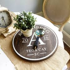 new customized wood lazy susan turntable trays perfect for classic monogram wood lazy susan
