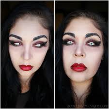 agape love designs easy vampire makeup tutorial video