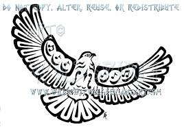 musical pacific northwest hawk tattoo by wildspiritwolf on deviantart