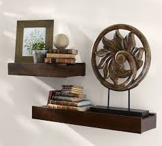 Wood Shelves Images by Rustic Wood Shelves Pottery Barn