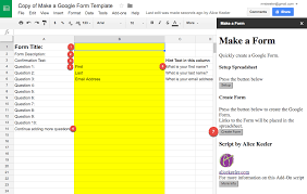 Form To Spreadsheet S Way To A Form Tech