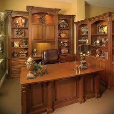 Executive Office Desks For Home Custom Made Executive Desk With Wall Unit Transitional Home