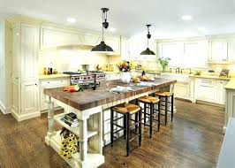 kitchen island designs with cooktop and seating range hoods home
