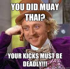 Muay Thai Memes - condescending wonka memes quickmeme