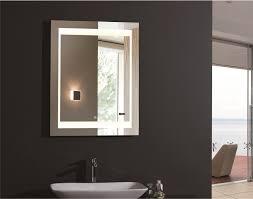 Led Bathroom Mirror Bathroom Cabinets Zen Ii Lighted Vanity Mirror Led Bathroom