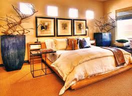 Unique Bedroom Wall Art Great Bedroom Designed With Contemporary Furniture And Abstract