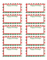 christmas gift tags template print template idea
