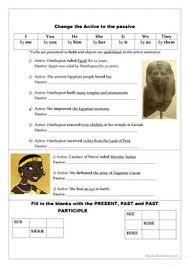 9 free esl ancient egypt worksheets