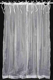 Tie Top Curtains White Designer Curtains Manufacturer U0026 Service Provider From Bhopal