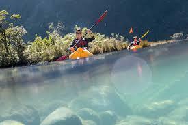 cruise u0026 kayak milford sound southern discoveries