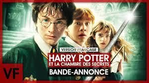 harry potter et la chambre des secrets harry potter et la chambre des secret vf bande annonce