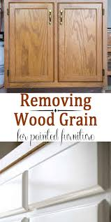 how to paint kitchen cabinets without streaks filling wood grain before painting oak cabinets craving
