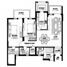 Dlf New Town Heights Sector 90 Floor Plan New Town Heights Gurgaon Floor Plan