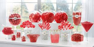 red candy buffet supplies red candy u0026 containers party city