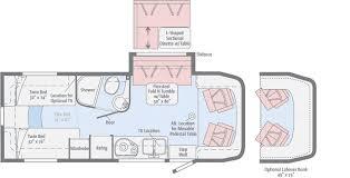 winnebago rialta rv floor plans cab seats reclined powered mirror with defrost wonderful