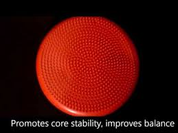 inflated stability wobble cushion u0026 exercise fitness core balance