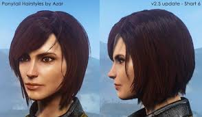 inside edition hairstyles ponytail hairstyles by azar v2 5a at fallout 4 nexus mods and