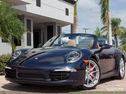 navy blue porsche convertible 2015 porsche 911 carrera 4s