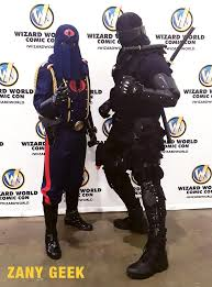 Cobra Commander Halloween Costume 2017 Wizard Philadelphia Comic U0026 Cosplay U2013 Zany Geek