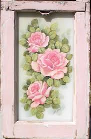 Specchio Shabby Chic On Line by 194 Best Fiori Dipinti Images On Pinterest Art Flowers Fabric