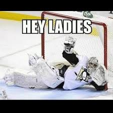 Hockey Goalie Memes - as a goalie i find this hilarious except i was doing it for the