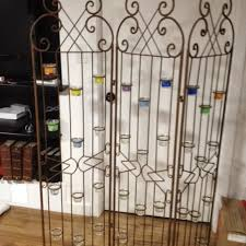 Wrought Iron Room Divider by Find More 2 X 3 Panel Wrought Iron Candle Holders Screen Room