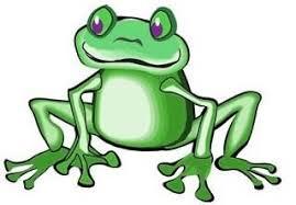 tribal frog design