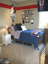 Baseball Bed Frame Boys Baseball Bedroom Ideas Free Home Decor