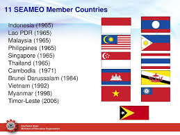Southeast Asia Flags Addressing Data Needs Of Countries The Southeast Asian Ministers