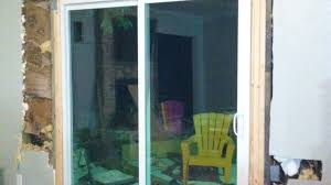 Patio Doors Installation Cost Cost To Install A Sliding Glass Door In An Existing Wall Convert