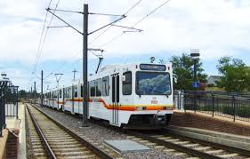 denver light rail hours file three car train at littleton mineral stn of rtd light rail