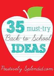 35 back to school ideas