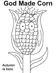 corn coloring pages printable ffftp net