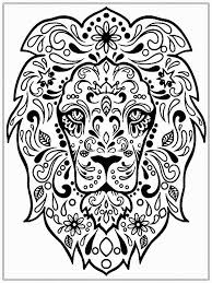 abstract cat printable coloring page coloring home