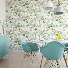 Watercolor Wallpaper For Walls by Florida Watercolor Removable Wallpaper Floral Self Adhesive